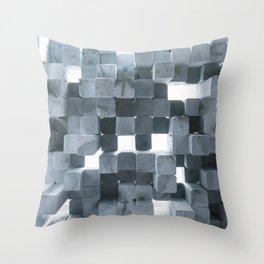 Reflecting Sound Throw Pillow