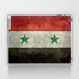 Syrian national flag, vintage Laptop & iPad Skin