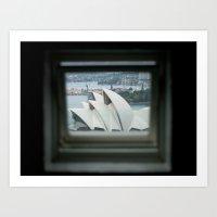 The Sydney Opera House  Art Print