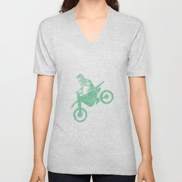 Dirt bike Motocross Unisex V-Neck