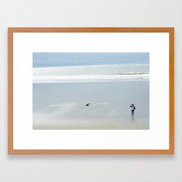 Long Walks Framed Art Print