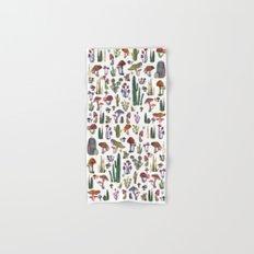 Cactus and Mushrooms NEW!!! Hand & Bath Towel