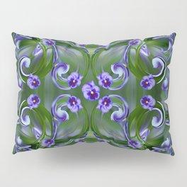 Pansy Twirl Pillow Sham