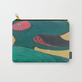 Swallowing Happiness Carry-All Pouch