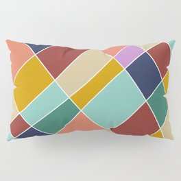Abstract Retro Painting Pillow Sham