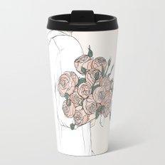 Peonies Travel Mug