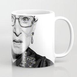 Ruth Bader Ginsburg Dissent Collar RBG Coffee Mug