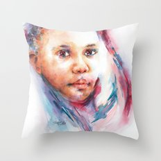 So much to tell ... Throw Pillow