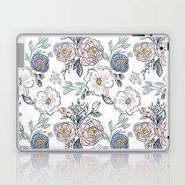 Indy Bloom Design Periwinkle Rose Laptop & iPad Skin