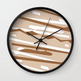 Tejido Wall Clock