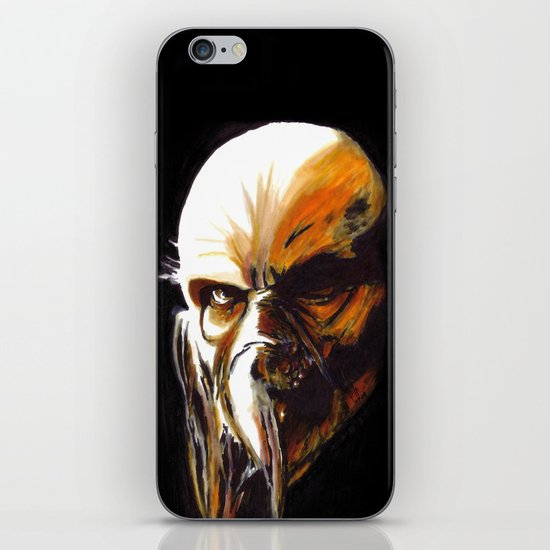 Dr. Satan iPhone & iPod Skin