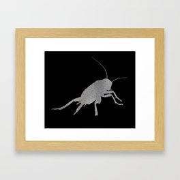 Insect Texture Outline 4 Framed Art Print