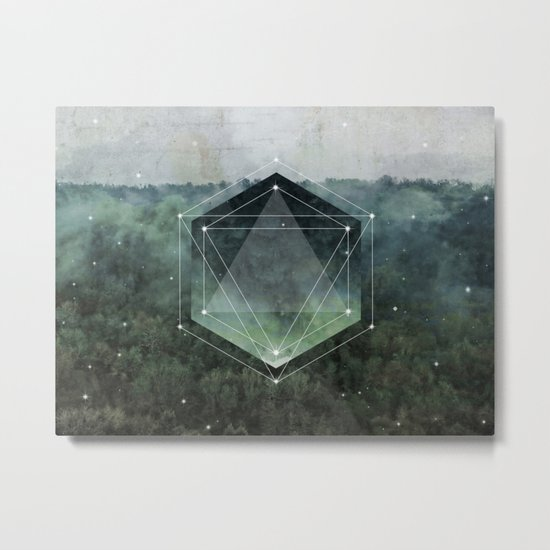 The Sacred Wood Metal Print