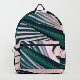 Pink sunset in paradise Backpack
