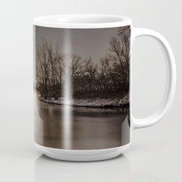 Quay at night Coffee Mug