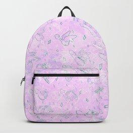 Flying Phallus Print Backpack