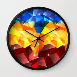Polygon Ron Wall Clock