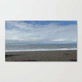 Sand, sea and sky Canvas Print