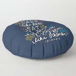 FRIENDS TV Characters Floor Pillow