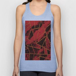 Abstract #942 Unisex Tank Top