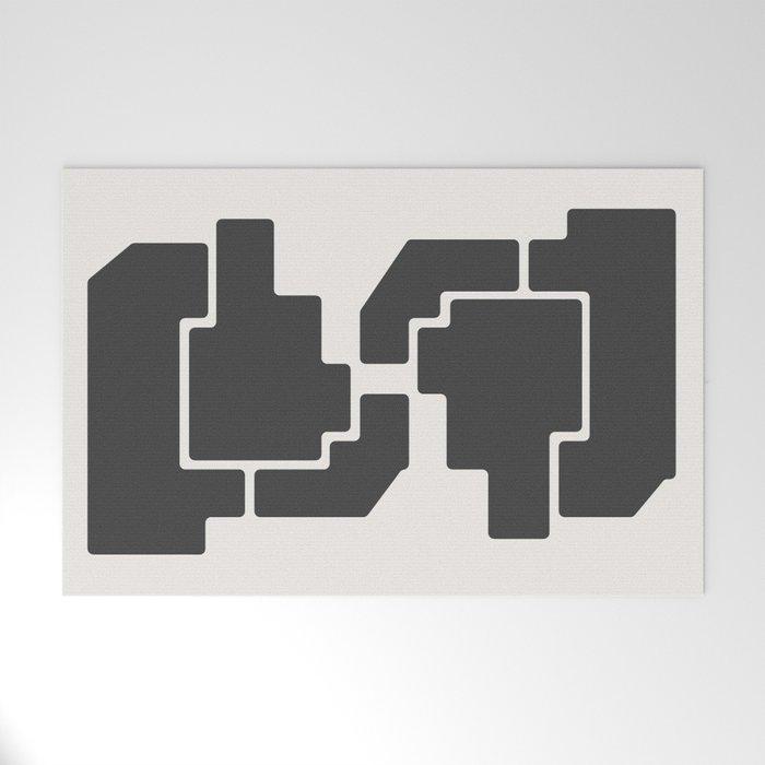 Geometric Art 2 Welcome Mat