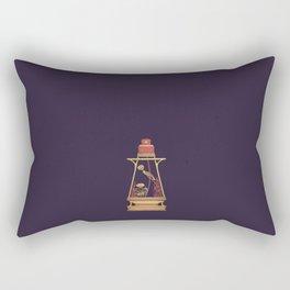 "poster : bottle 6 ""flacon à voiles"" Rectangular Pillow"