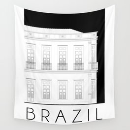 Brazil Facade Wall Tapestry