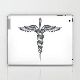 Caduceus Medical Symbol Laptop & iPad Skin