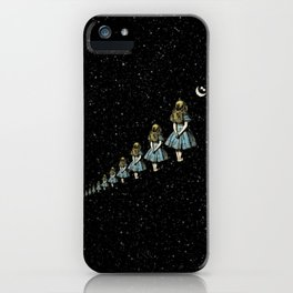 Infinite Wondering Nights - Alice In Wonderland iPhone Case