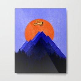 Landscape blue Metal Print
