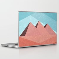 egypt Laptop & iPad Skins featuring Egypt by Illusorium