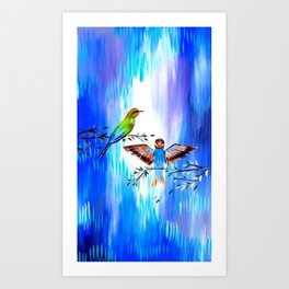 Our Love Story Art Print