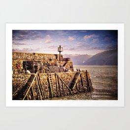 Clovelly North Devon Art Print