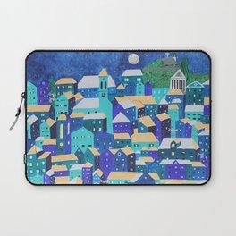 Moonlit Roofs, Corfu Town Laptop Sleeve