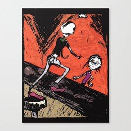 The ole Bar Canvas Print