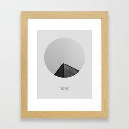 TRACERY Framed Art Print