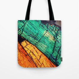 Epidote and Quartz Tote Bag