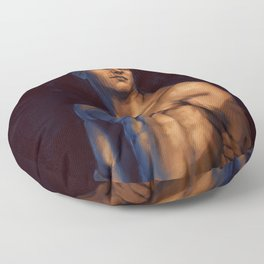 Cullen nude study dragon age inquisition templar Floor Pillow