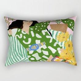 You Left Me Waiting Rectangular Pillow