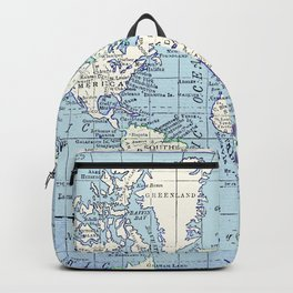 A Really Nice Map Backpack