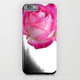 Pink Rose Artwork Design iPhone Case