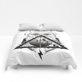 Owls and Wizardry Comforters
