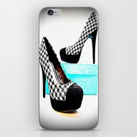 shoe iPhone & iPod Skins featuring Shoe Lust by 2sweet4words Designs