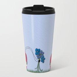 Flowers For My Love Travel Mug