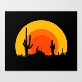 mucho calor Canvas Print