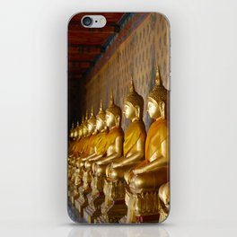 Thailand - Serene Buddhas iPhone Skin