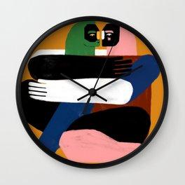 Nudos Wall Clock