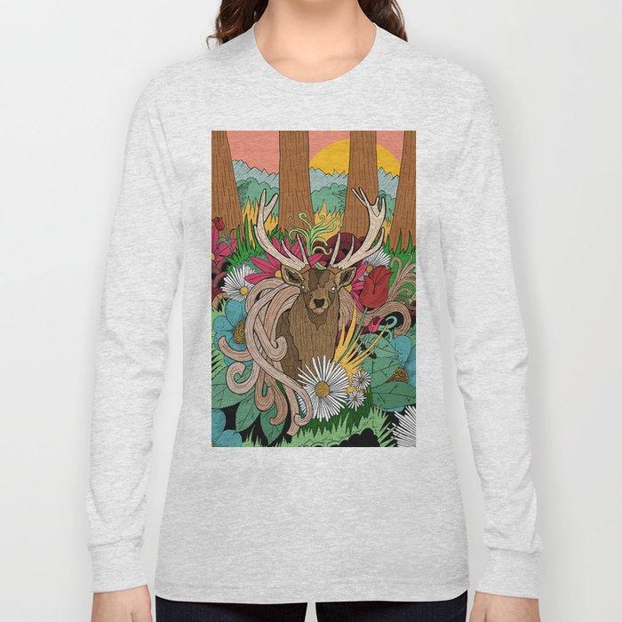 Spring Woodland Long Sleeve T-shirt