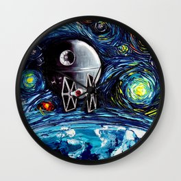 van Gogh Never Saw The Empire Wall Clock