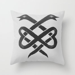 The Infinity Throw Pillow